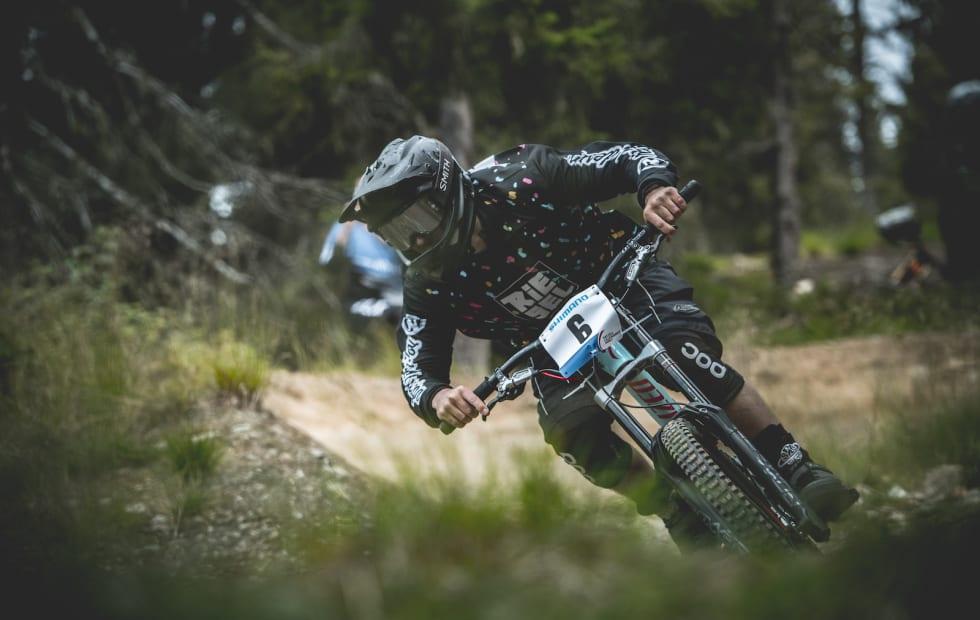 Martin Tepfe under utforkonkurransen i Hafjell Bike Fest. Foto: Hafjell Bike Park/Gisle Johnsen