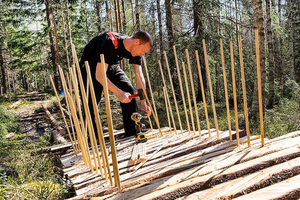 Stibygging er en viktig del av arbeidet til NOTS. Foto: Bjørn Enoksen