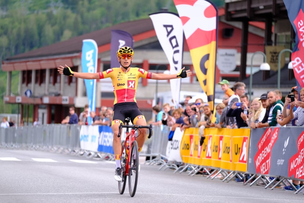 Torstein Træen vant etappen og rittet samnenlagt. Foto: Mikkel Skretteberg/Sportsfoto.no