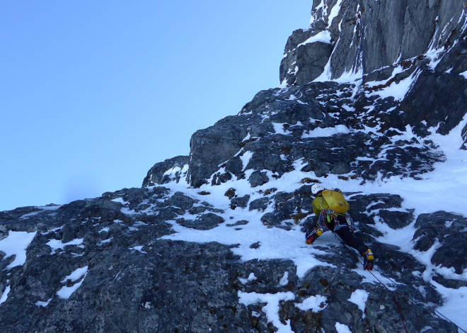 Hovedmannen Sunndal alpinklatring Nelson Neirinck Toralf Furseth