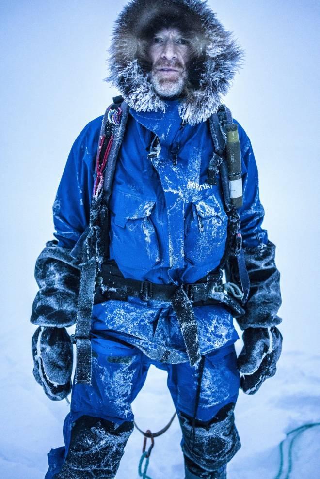 Børge Ousland på ekspedisjon over Nordpolen