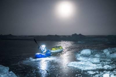 Børge Ousland og Mike Horn padlet på ekspedisjonen