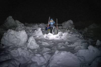 Krevende forhold på Nordpolen