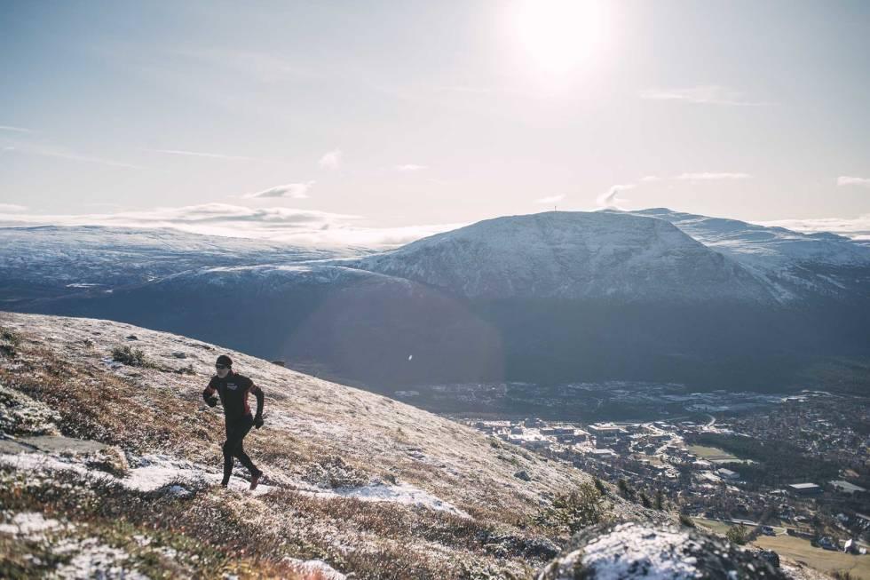 Løping på fjellet