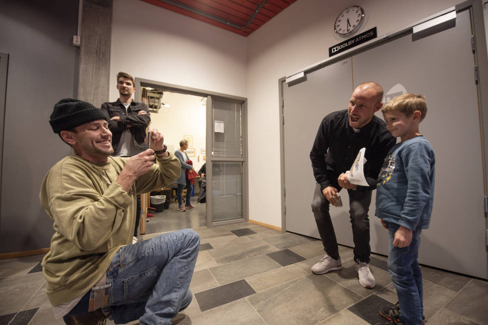 Erik Naess og Aksel Lund Svindal Oppdal