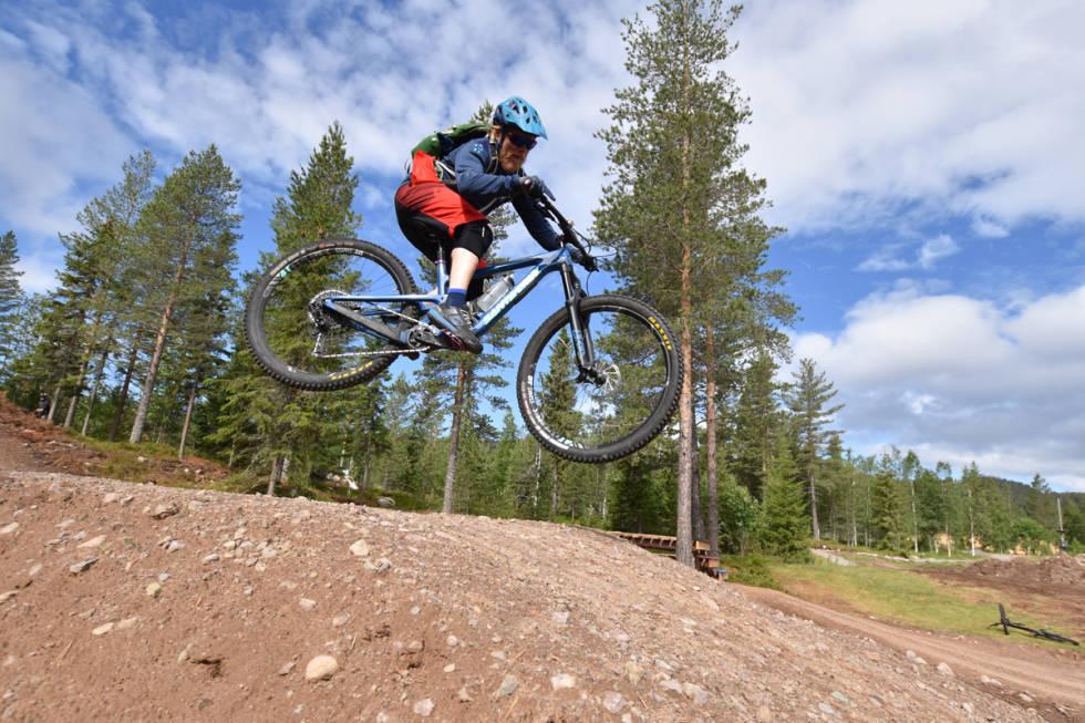 Aleksander Wassum terrengsykkel trysil