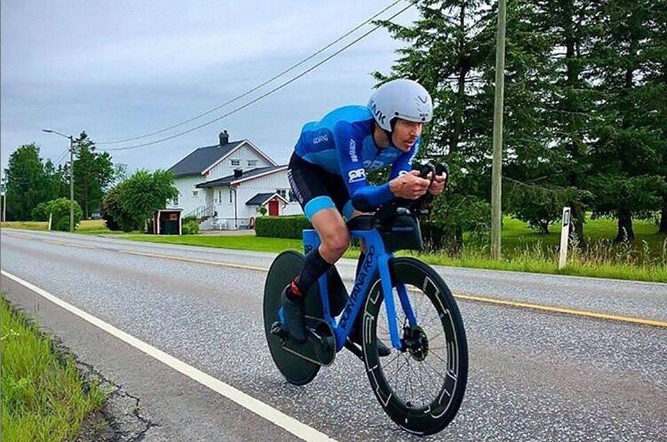 Allan Hovda verdensrekord 24-timerssykling