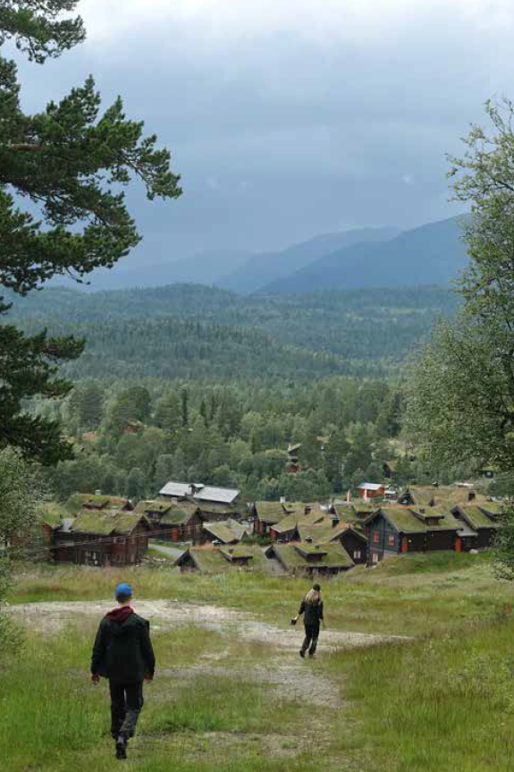 Rauland Skisenter turguide Telemark