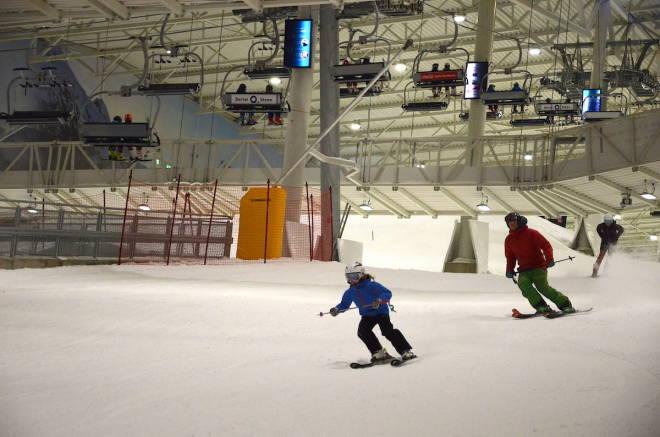 alpint innendørs snø Lørenskog