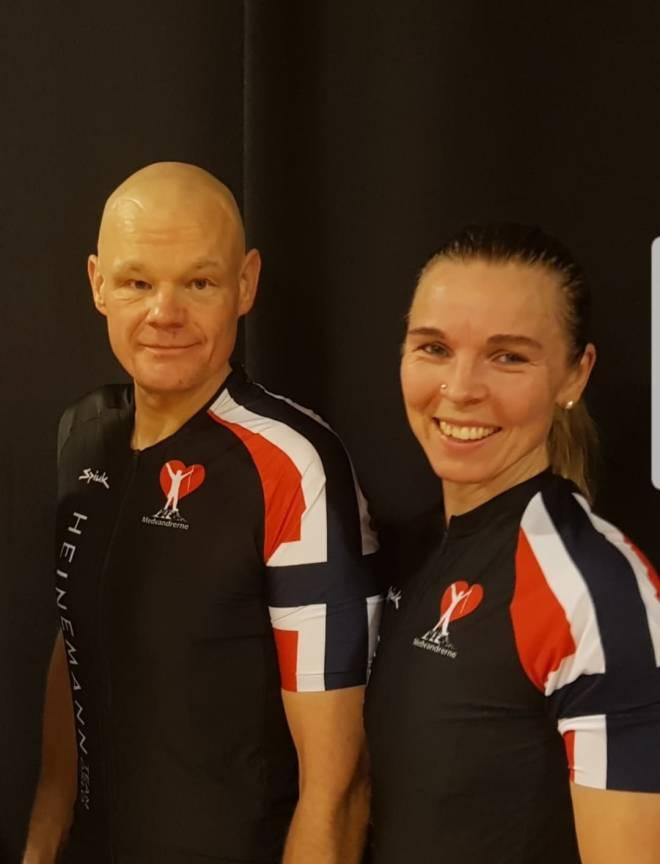 Anders Bernhoft og Monica Storhaug Team Oslo 2021