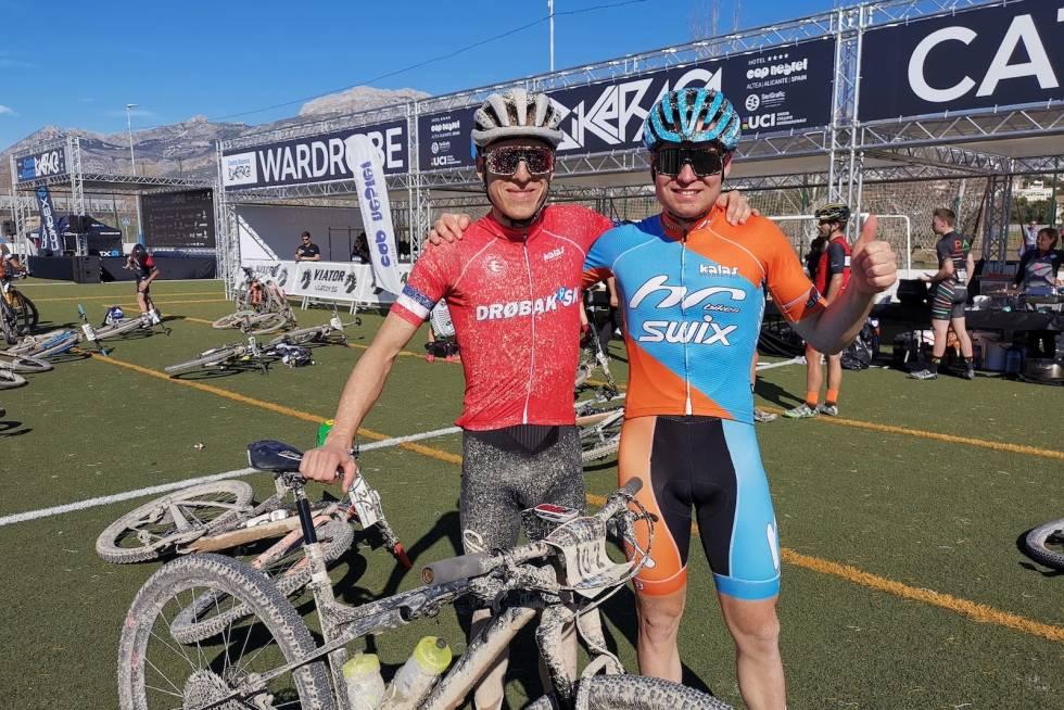 Emil Hasund Eid og Anders Johannessen Costa Blanca Bike Race