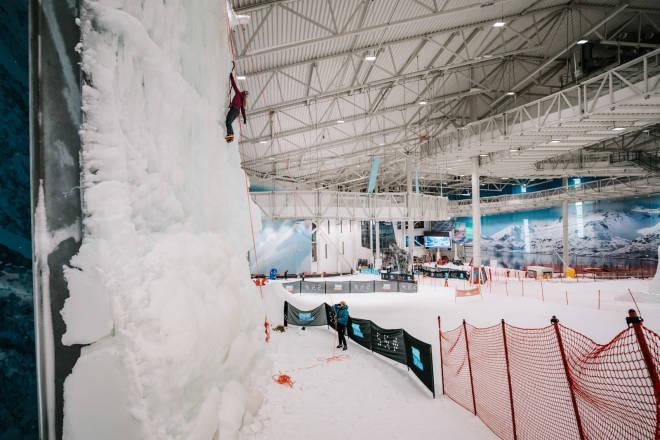 Isveggen, SNØ, Lørenskog