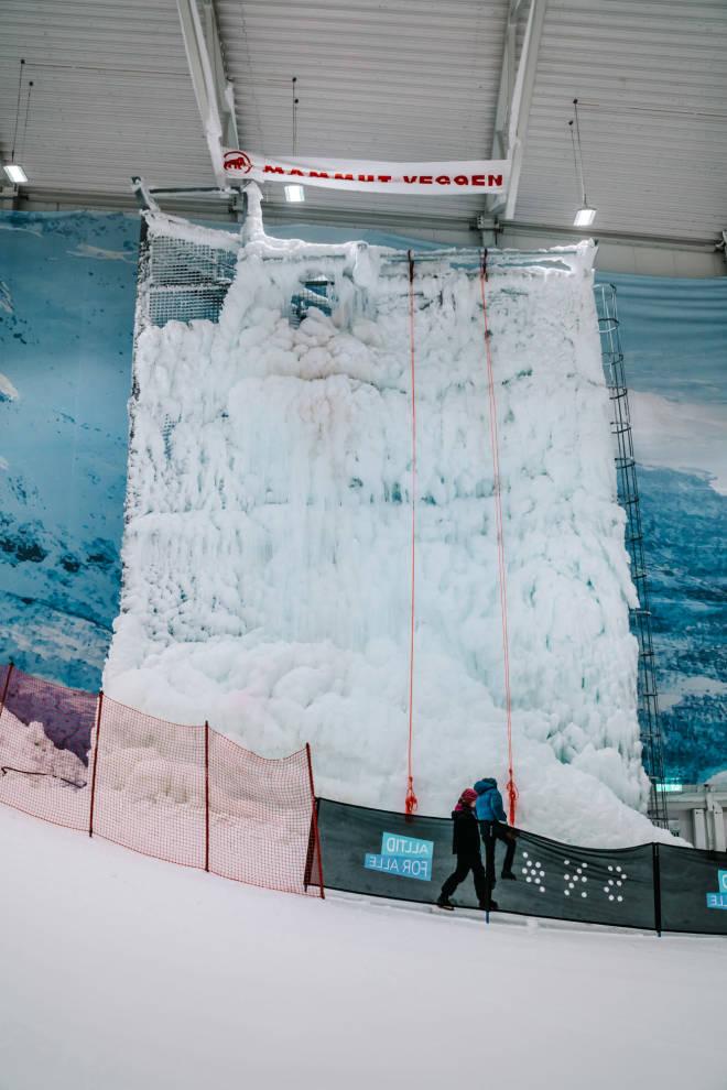 Isvegg, SNØ, Lørenskog
