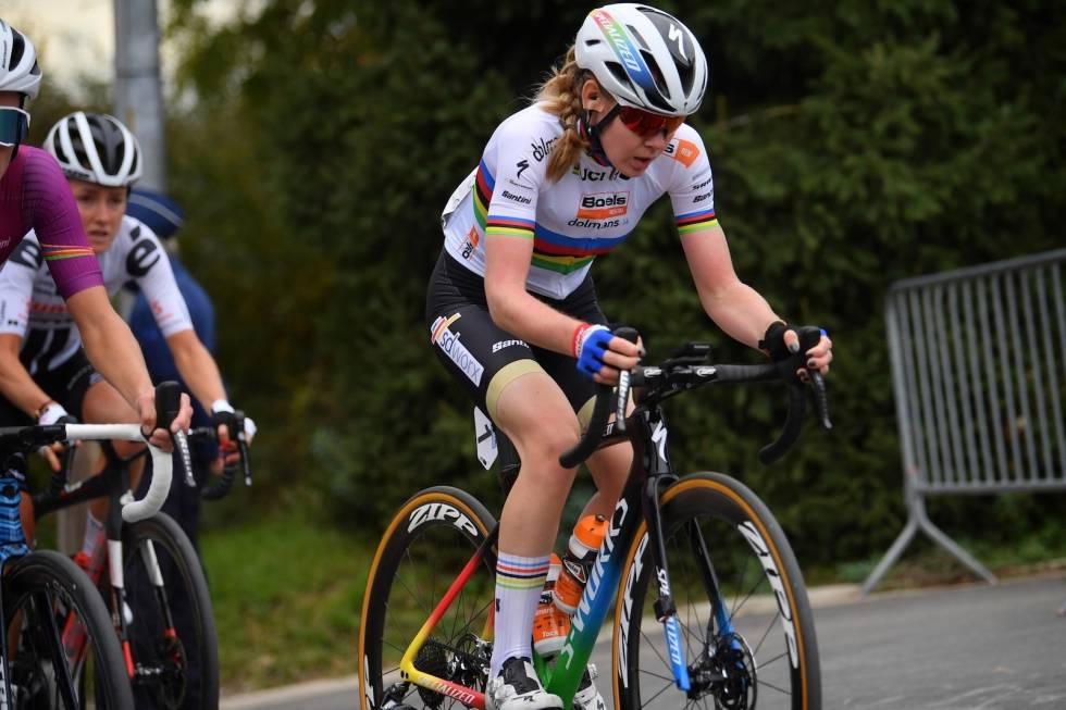Anna van der Breggen til Zwift-VM
