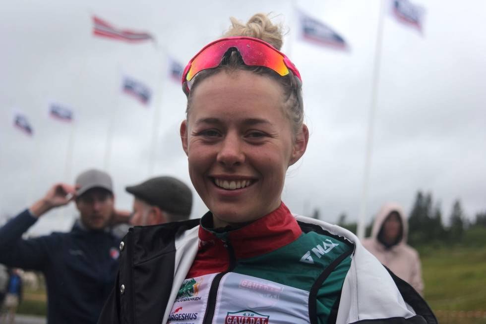 Anne Dorte Ysland tredje etappe i Tour te Fjells