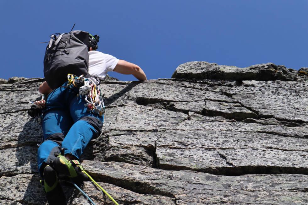 test fjellklatresekk Arc´teryx Alpha