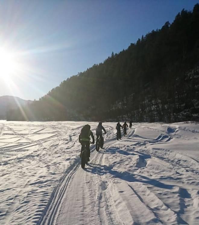 Arctic Alta Fatbike race langløp i Finnmark