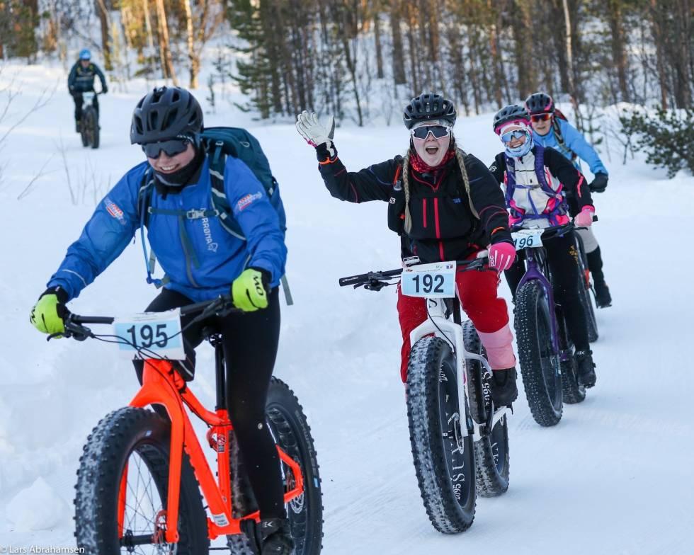 Arctic Alta Fatbike Race