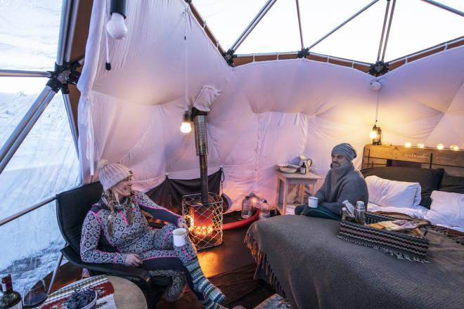 arctic dome høvringen