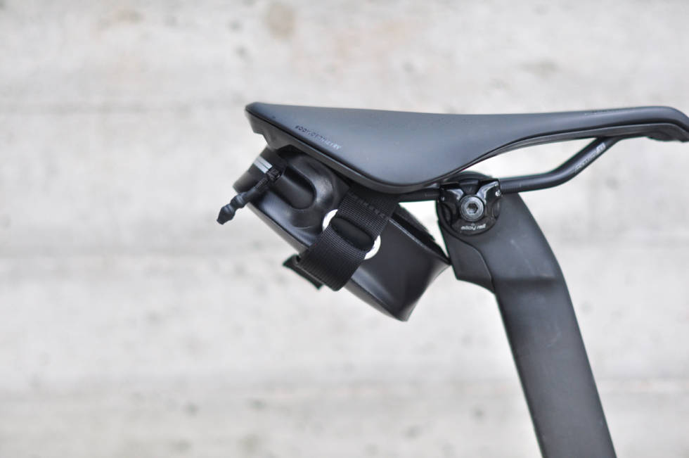 Arundel Pico seteveske montert på sykkel