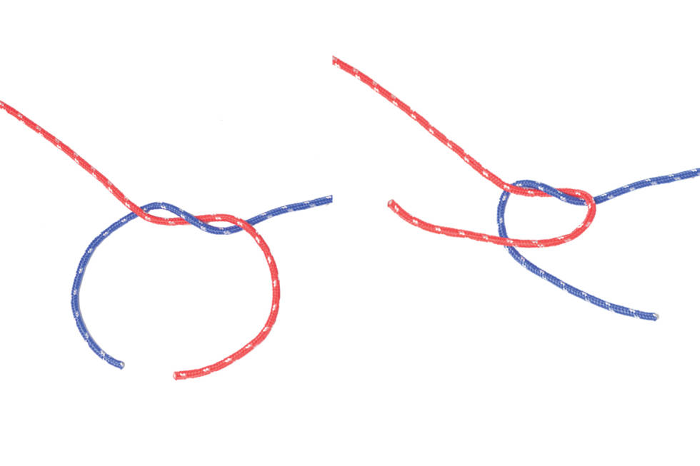 Båtmannsknop knute 1