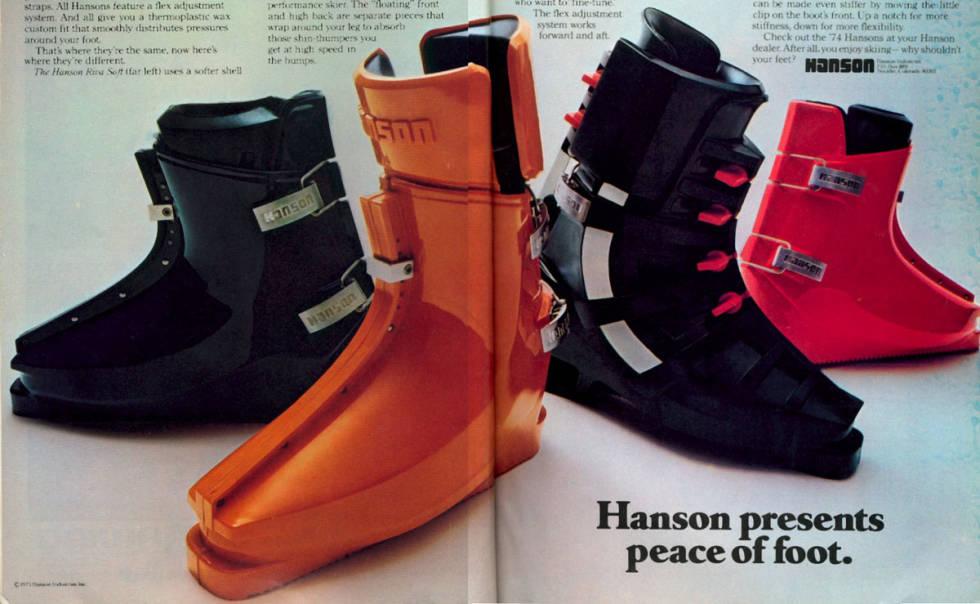 Hansen rear entry boots skiutstyr