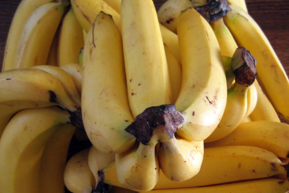 Bananer til sykkeltrening