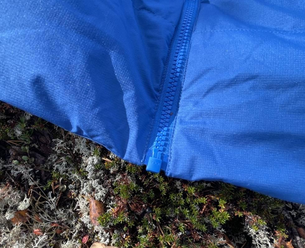Bergans Røros mangler toveis glidelås