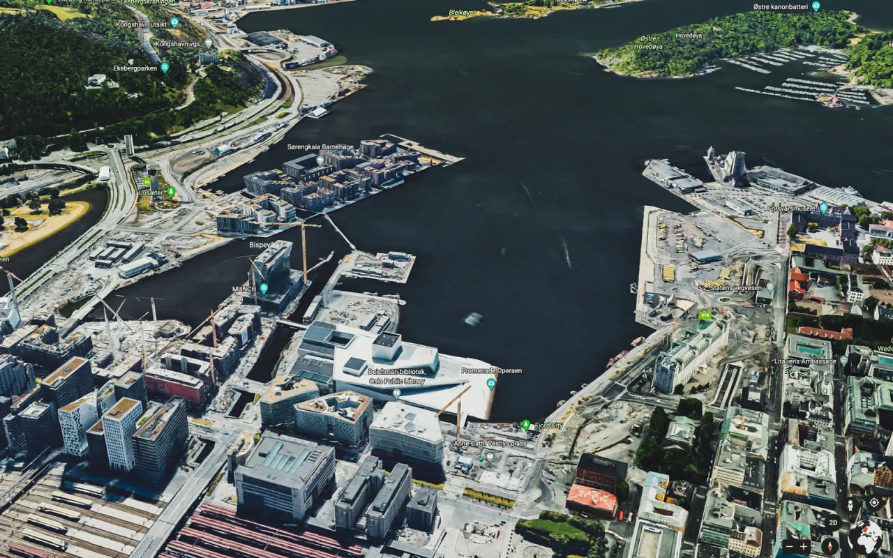 Den innerste delen av Oslofjorden har på kort tid blitt et sted for bading og restitusjon. Bispevika kan være et paradis for SUP-turer. Minimalt med båttrafikk og forstyrrende bølger, men ett og annet bade-skrik må du tåle når du trakter hit. For på Sørenga - der bades det!