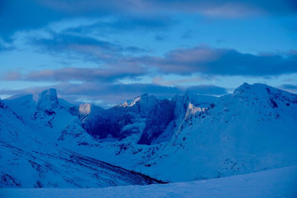 Blåfjellet 1279 moh fra Toppturer i Romsdalen