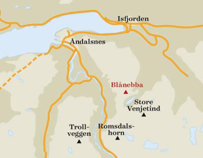 Blånebba-kart