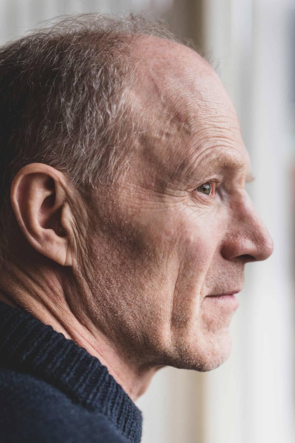 Børge Ousland: – Jeg liker å være sliten. Da forsvinner hinnen mellom virkeligheten og resten av verden. Jeg kommer tettere på, synes jeg. Foto: Line Hårklau