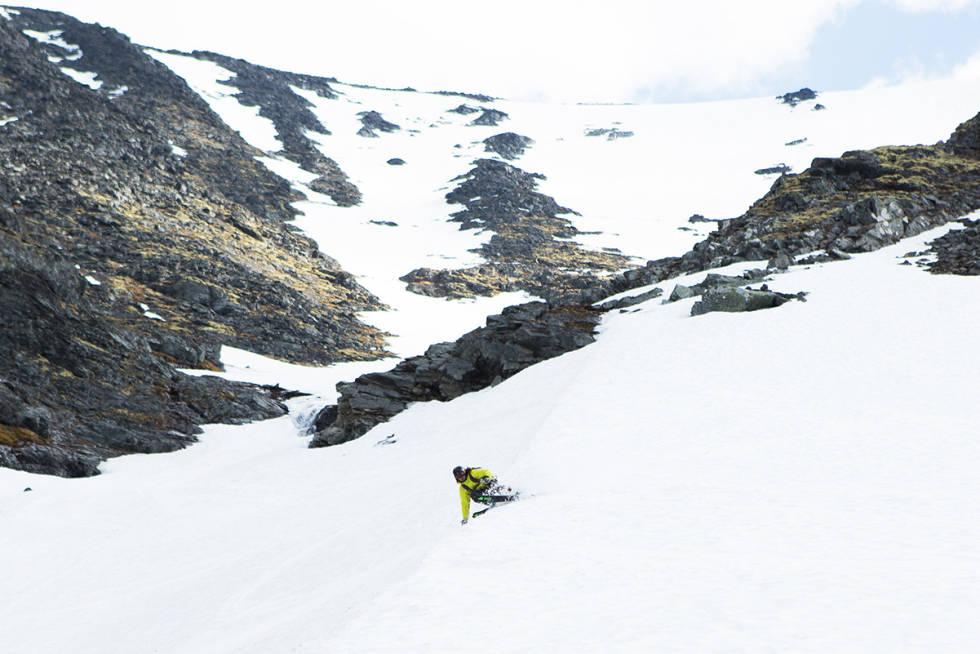 SKITERRENG: Alpinanlegg-prosjektet i Bøverdalen innebærer blant annet skiheiser i dette terrenget, og høydeforskjell på over 1 700 meter. Arkivfoto: Tore Meirik