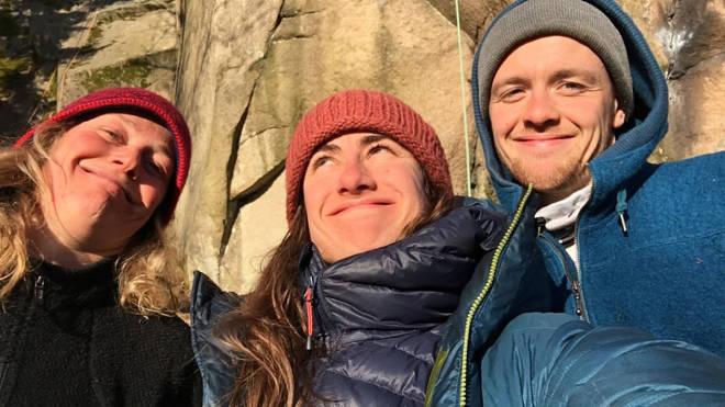 Mari Salvesen klatring påske korona