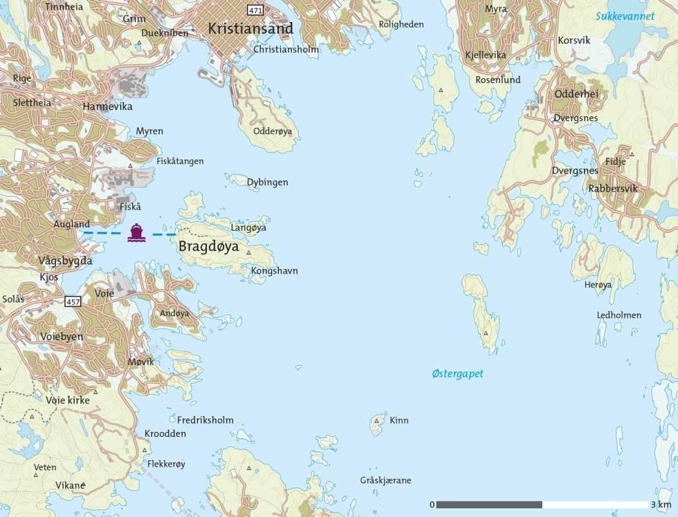 Bragdøya-Kart