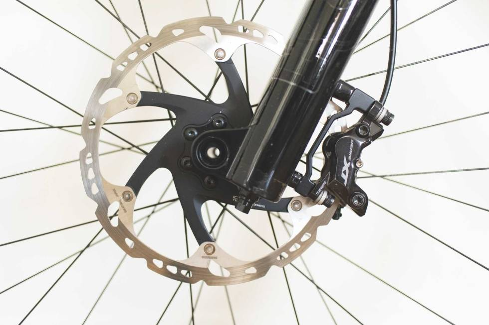 oppgradere skivebremser sykkel terrengsykkel