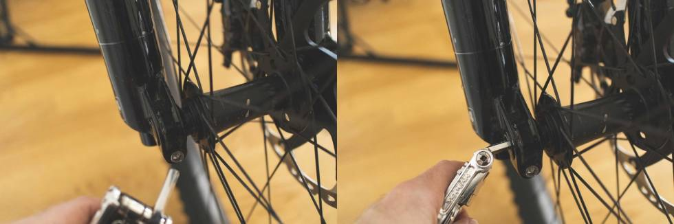 bytte bremseskive sykkel