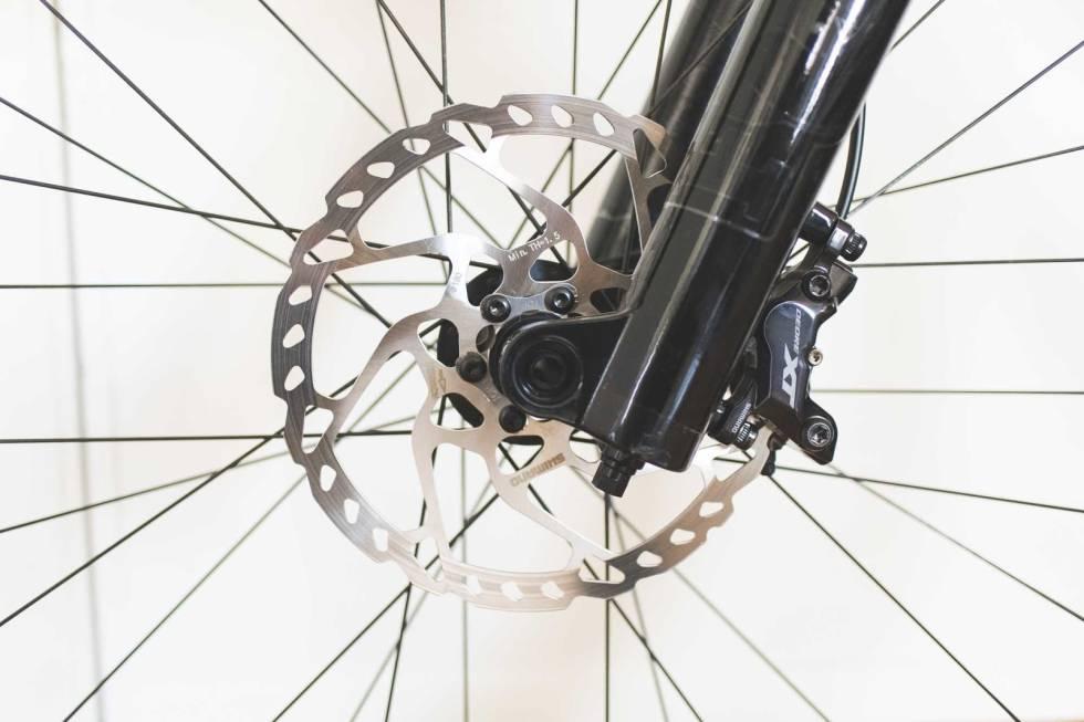 oppgradere skivebrems terrengsykkel sykkel