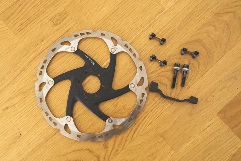 bytte bremseskive skivebrems terrengsykkel sykkel