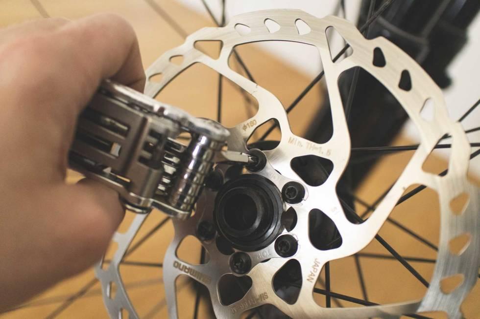 bytte bremseskiver sykkel