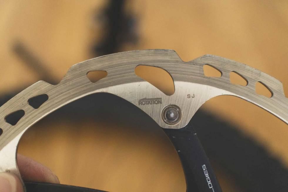 bytte bremseskive terrengsykkel sykkel