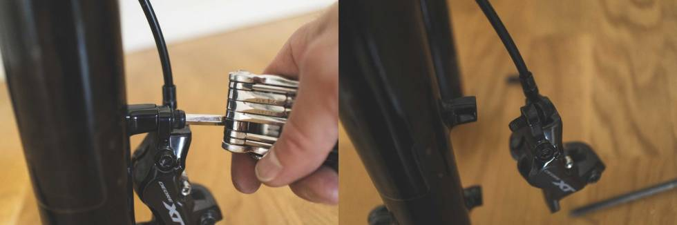 bytte bremseskive skivebrems sykkel