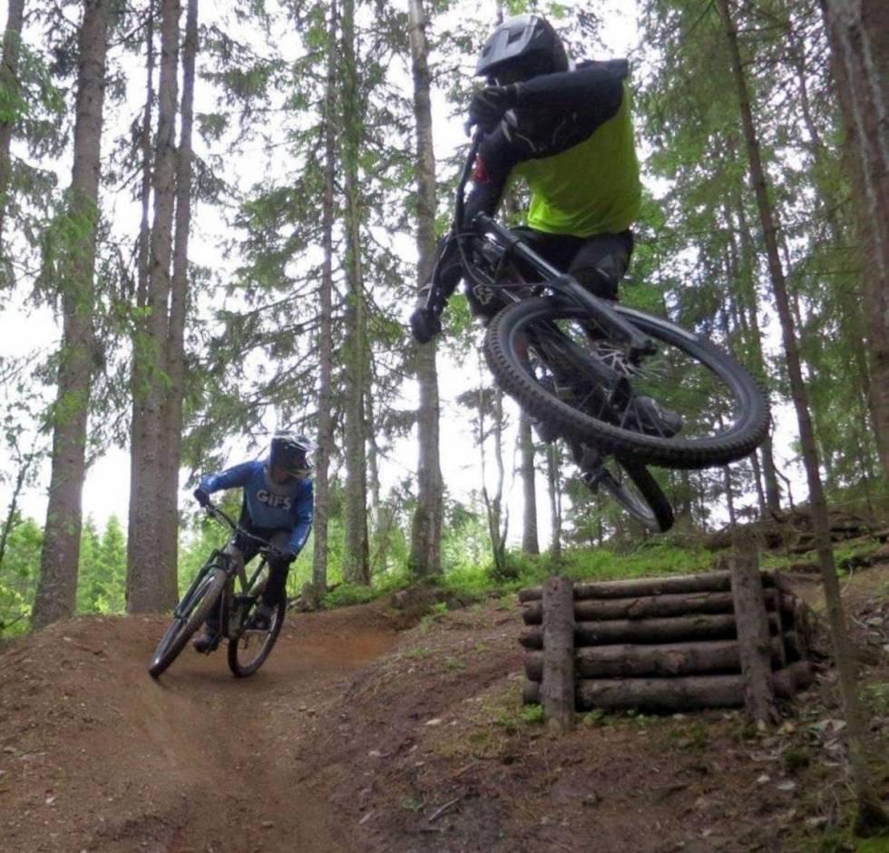 Kjerringåsen sykkelpark sesongåpning