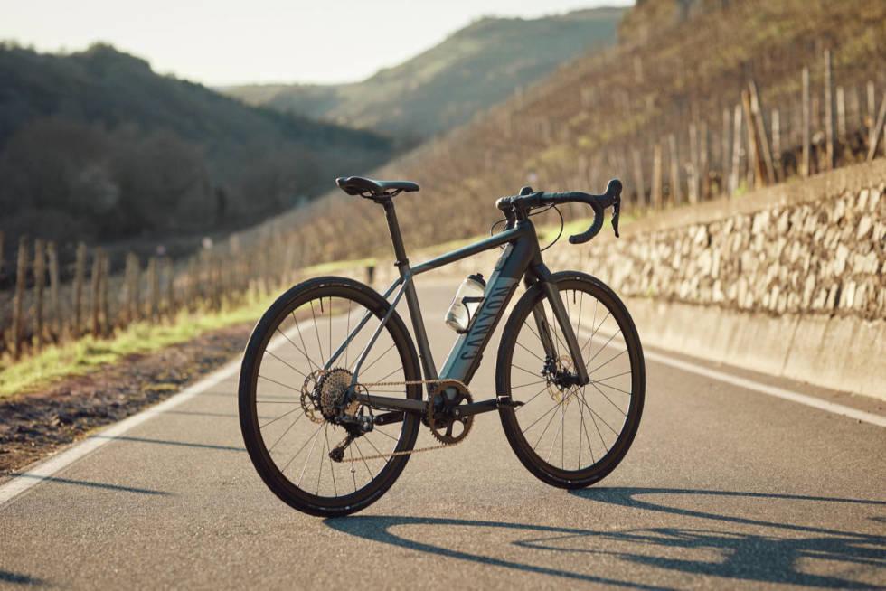 Canyon sin nye endurace el-sykkel