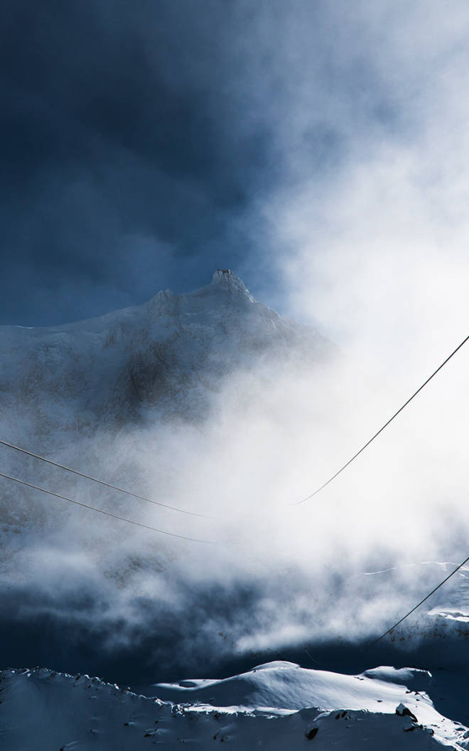 VERDENS RÅESTE SKIHEIS: Aiguille du Midi i Chamonix. Foto: Henrik Ulleland
