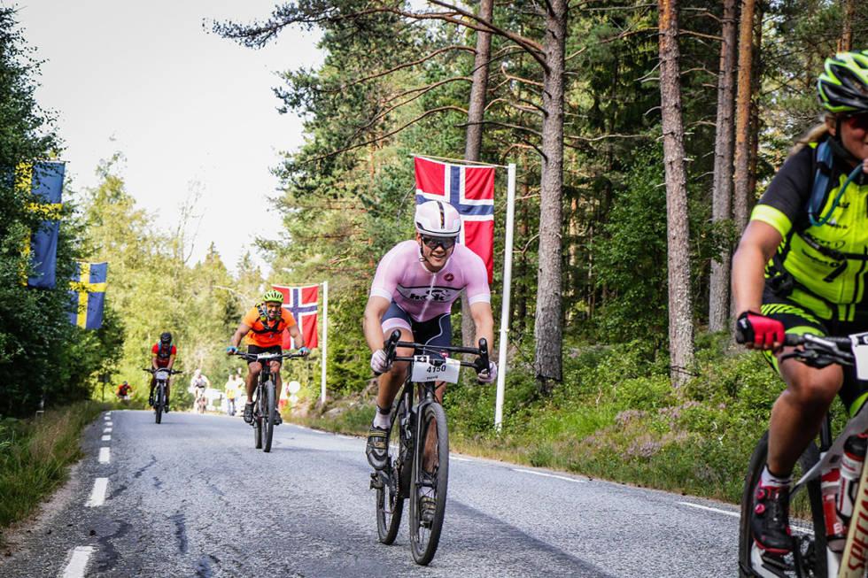 Christian Haug på Grenserittet cyclocross
