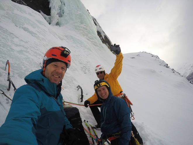 Arctic Ice Festival Conrad Anker isklatring