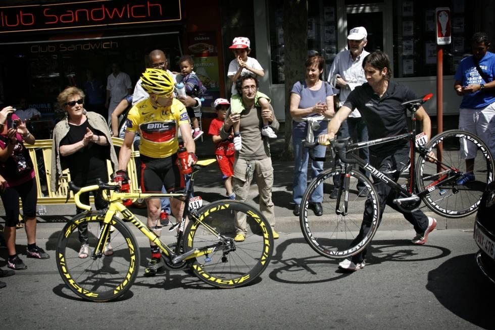 Cadel Evans BMC Impec