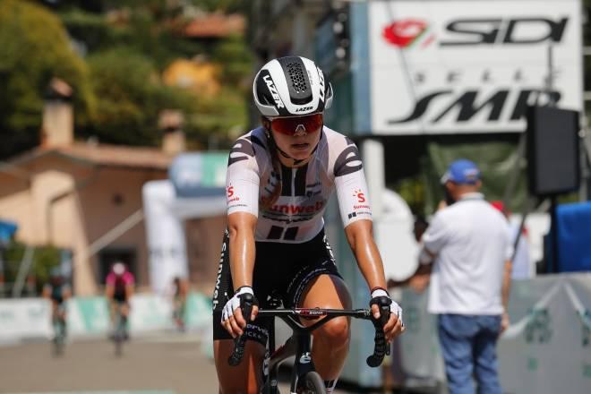 EVIG TALENT: Susanne Andersen har vært et kjent navn i norsk sykkelsport lenge, og er en av tre kvinnelige proffer i 2021. FOTO: Cor Vos