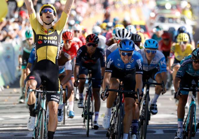 NÆR TOUR-ETAPPESEIER: Edvald Boasson Hagen ble nummer to på den 7. etappen i fjorårets Tour de France. FOTO: Cor Vos